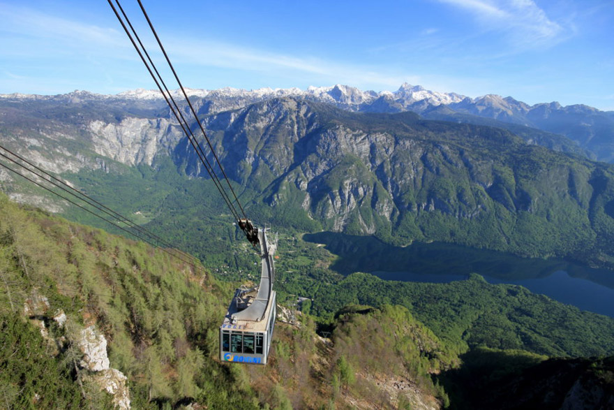 Bohinj Cable Cart To Vogel