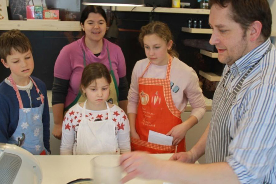 Cooking and baking workshop