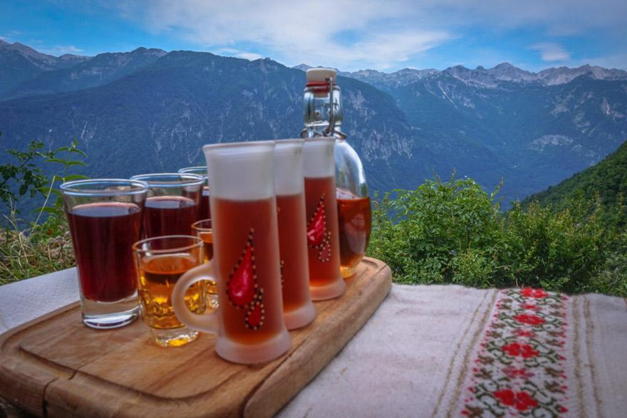 Bohinj Schnapps Tasting