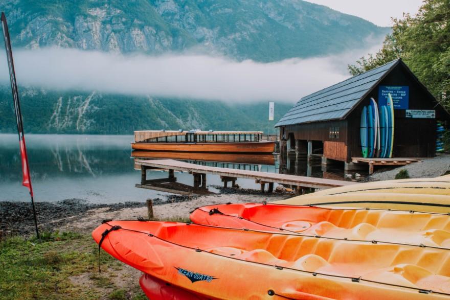Camp Bohinj Boathouse Pac Sports