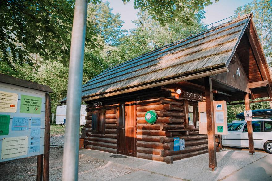 Camp Bohinj Reception