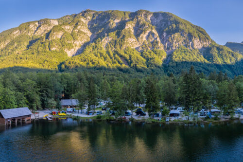 Camp Zlatorog Bohinj Panoramic