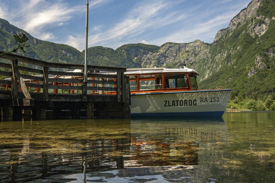 Camp Zlatorog Bohinj Panoramic Boat