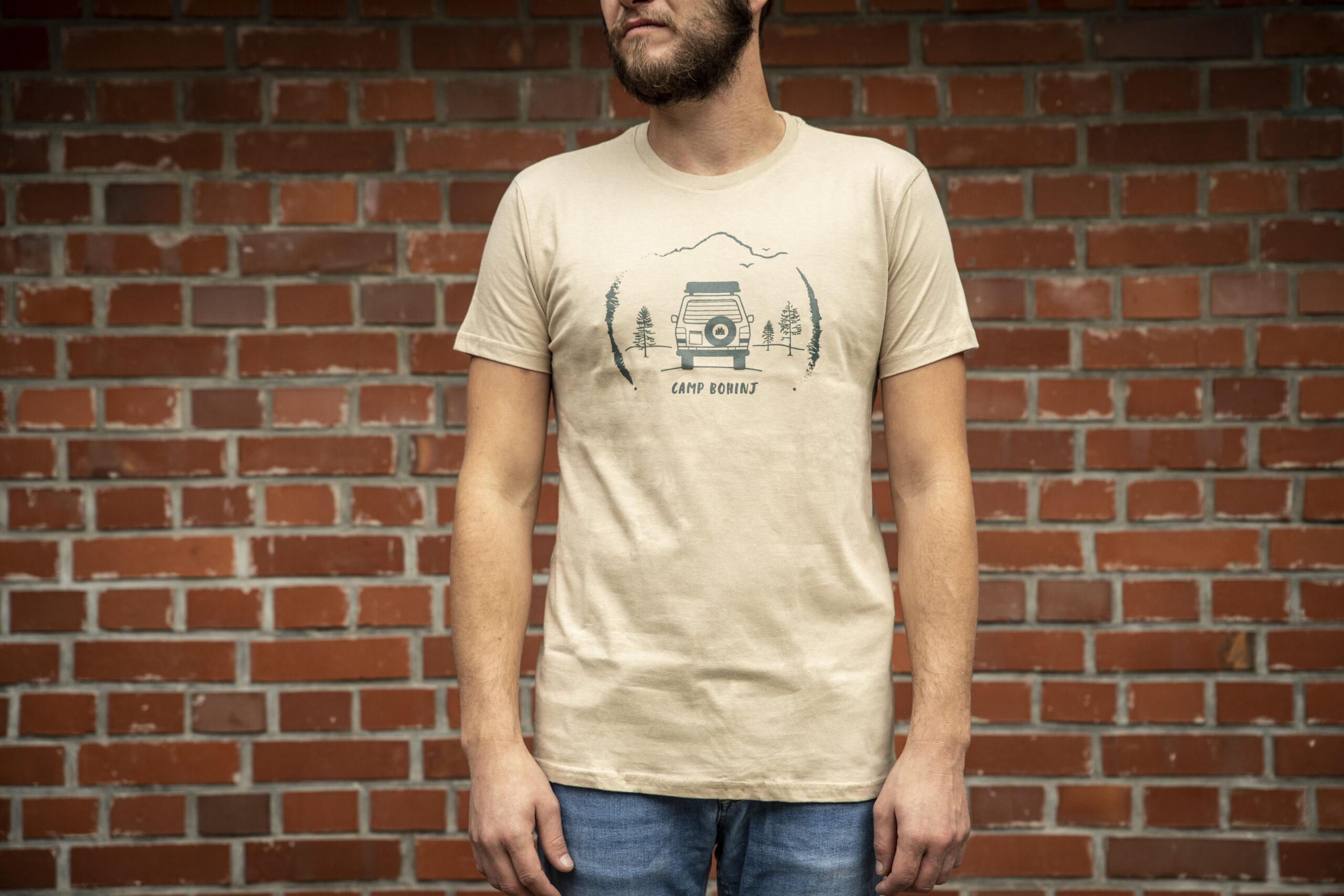 Camper Men T Shirt Beige 1