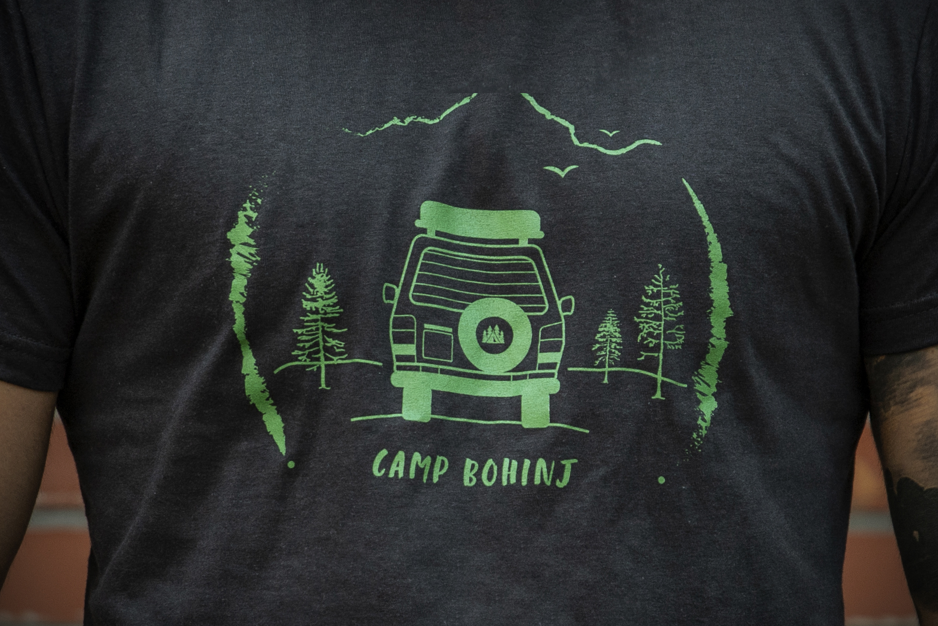 Camper Men T Shirt Black 2