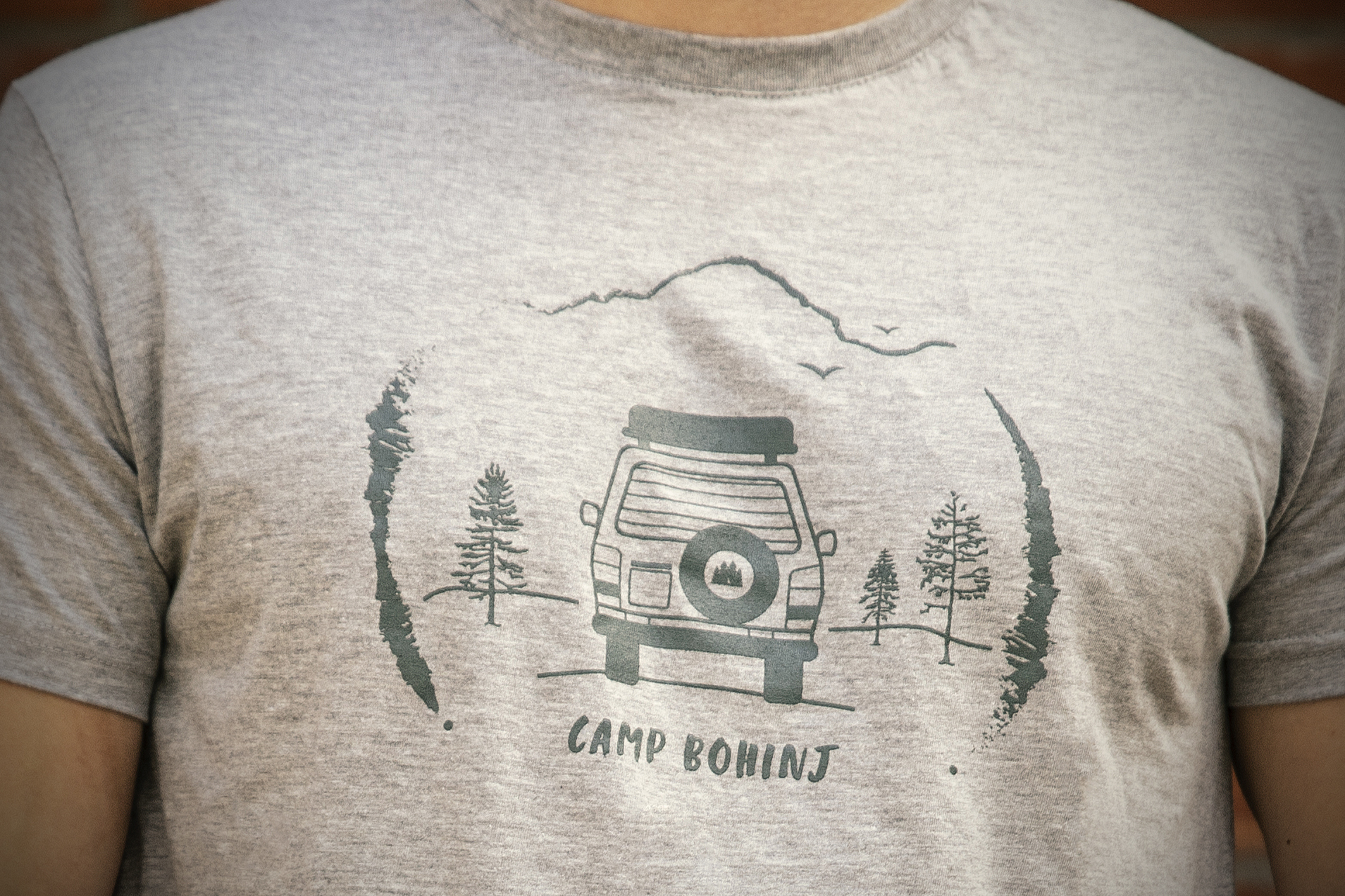 Camper Men T Shirt Grey 2