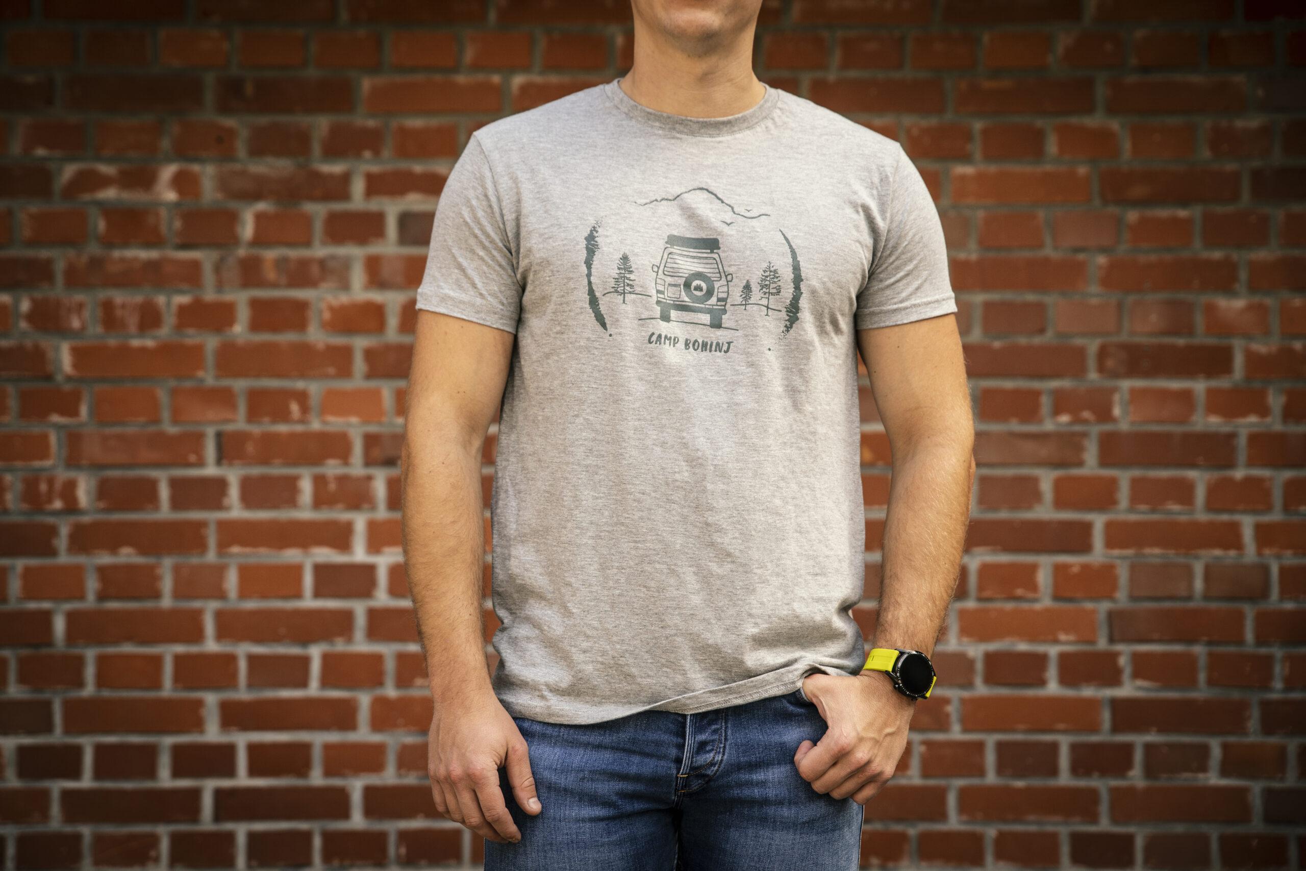 Camper Men T Shirt Grey
