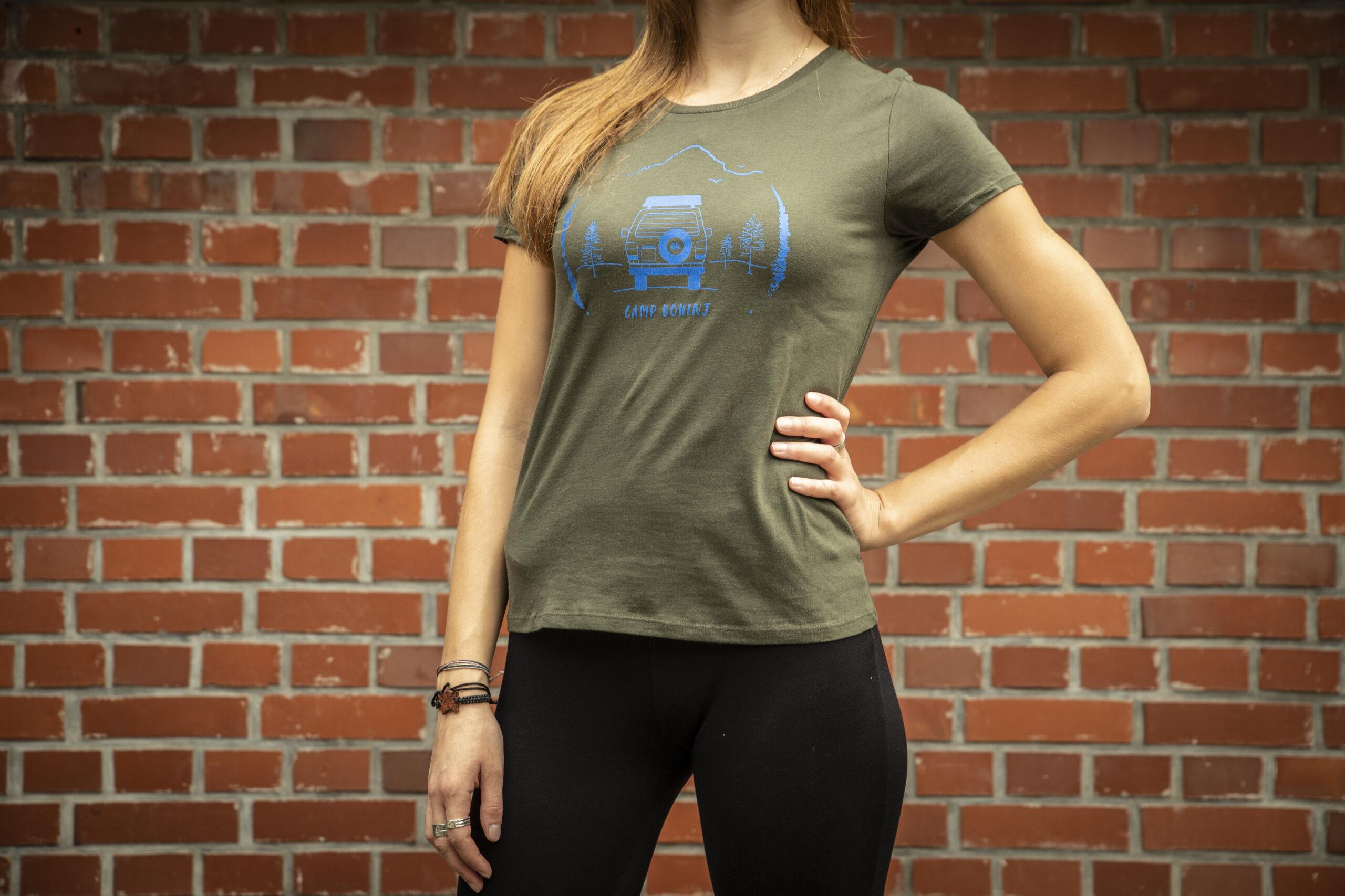 Camper Women T Shirt Green 1