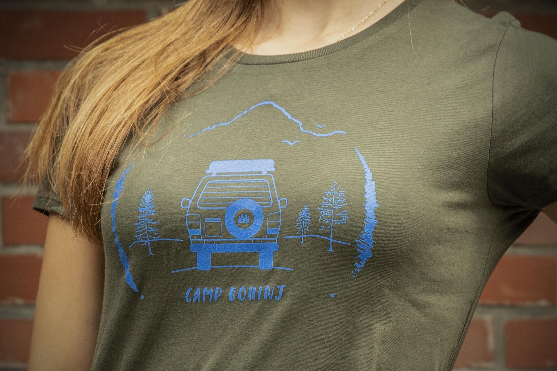 Camper Women T Shirt Green 2