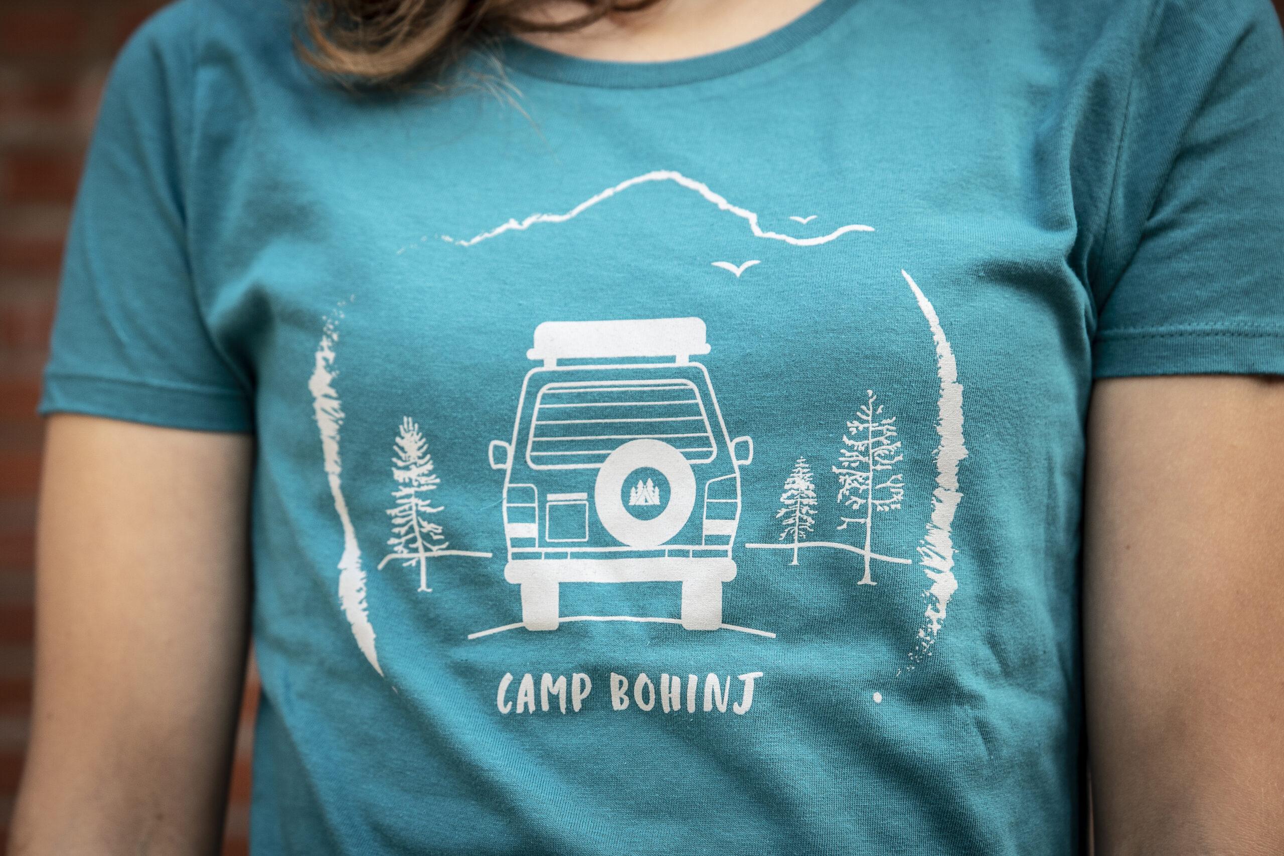 Camper Women T Shirt Petrol 2