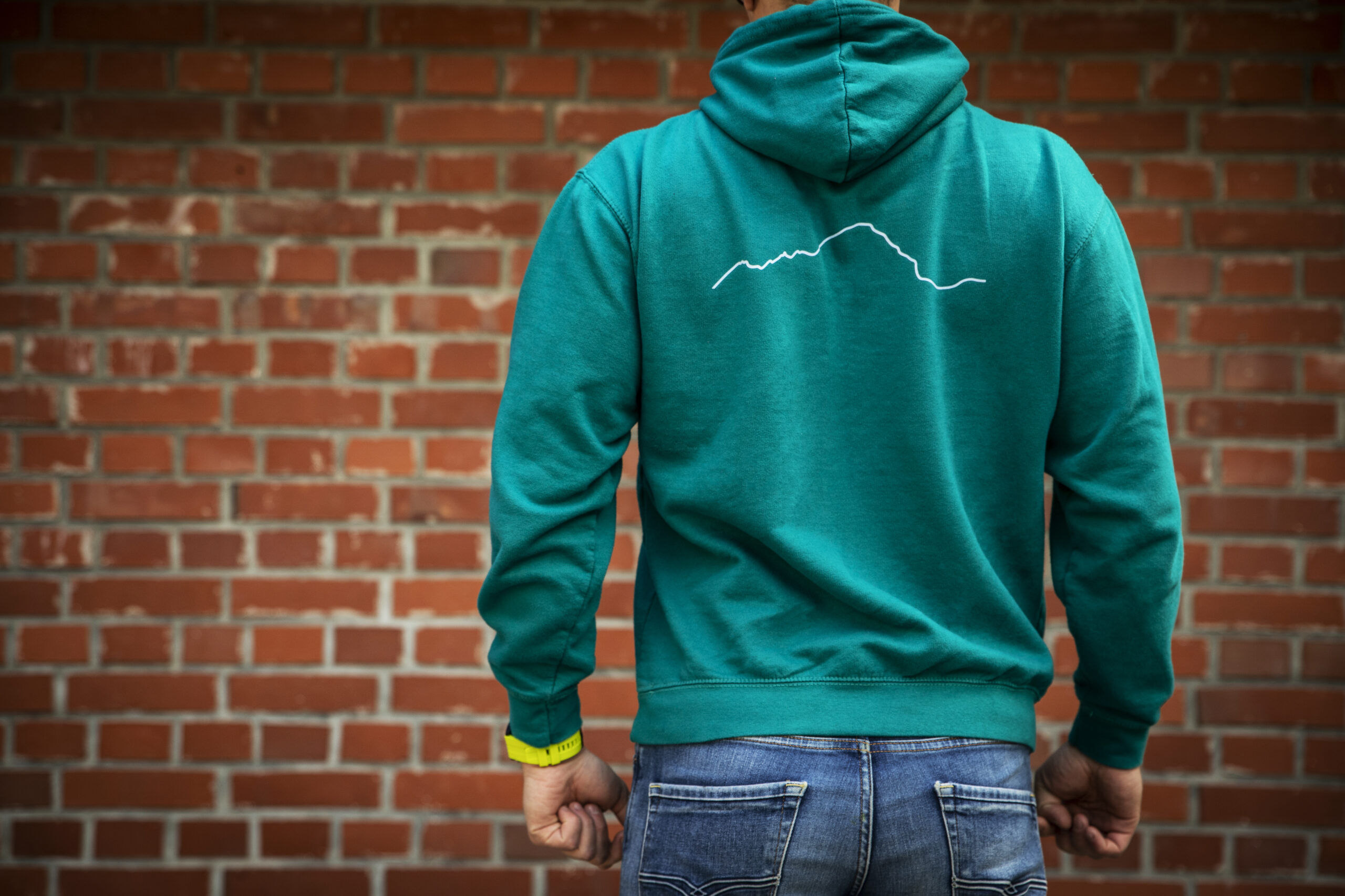 Green Hoodie Back 2