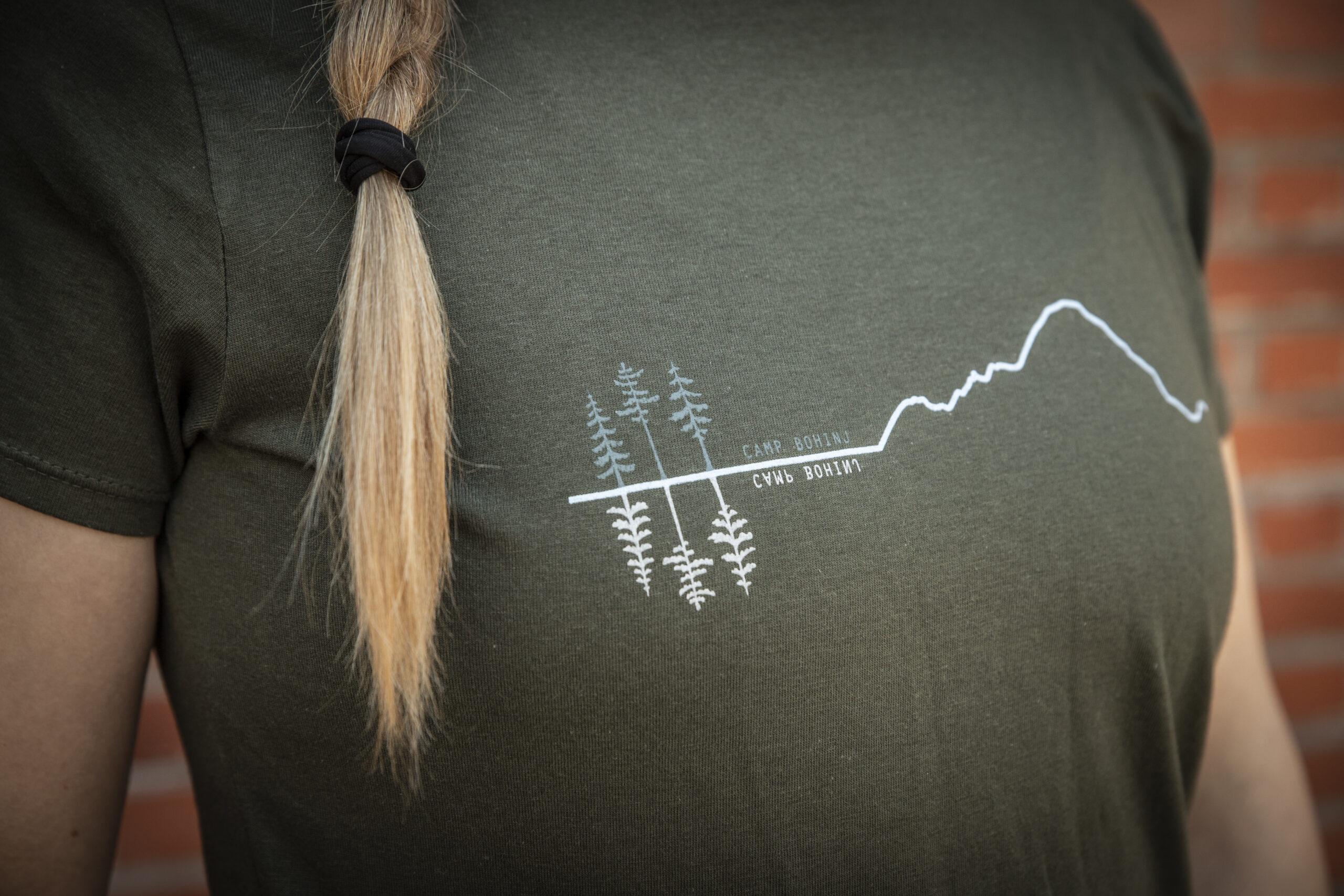 Mountain Woman T Shirt Green 4