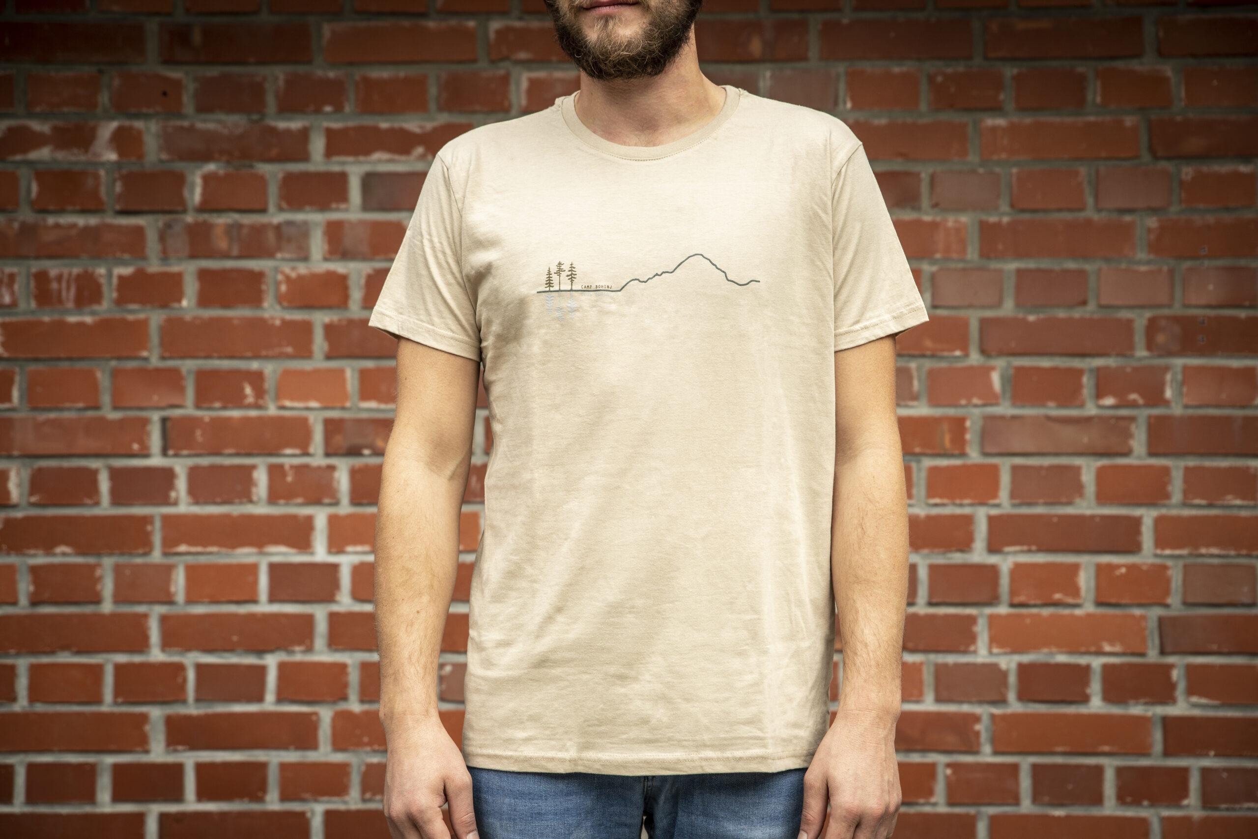 Mountain Men T Shirt Beige 1