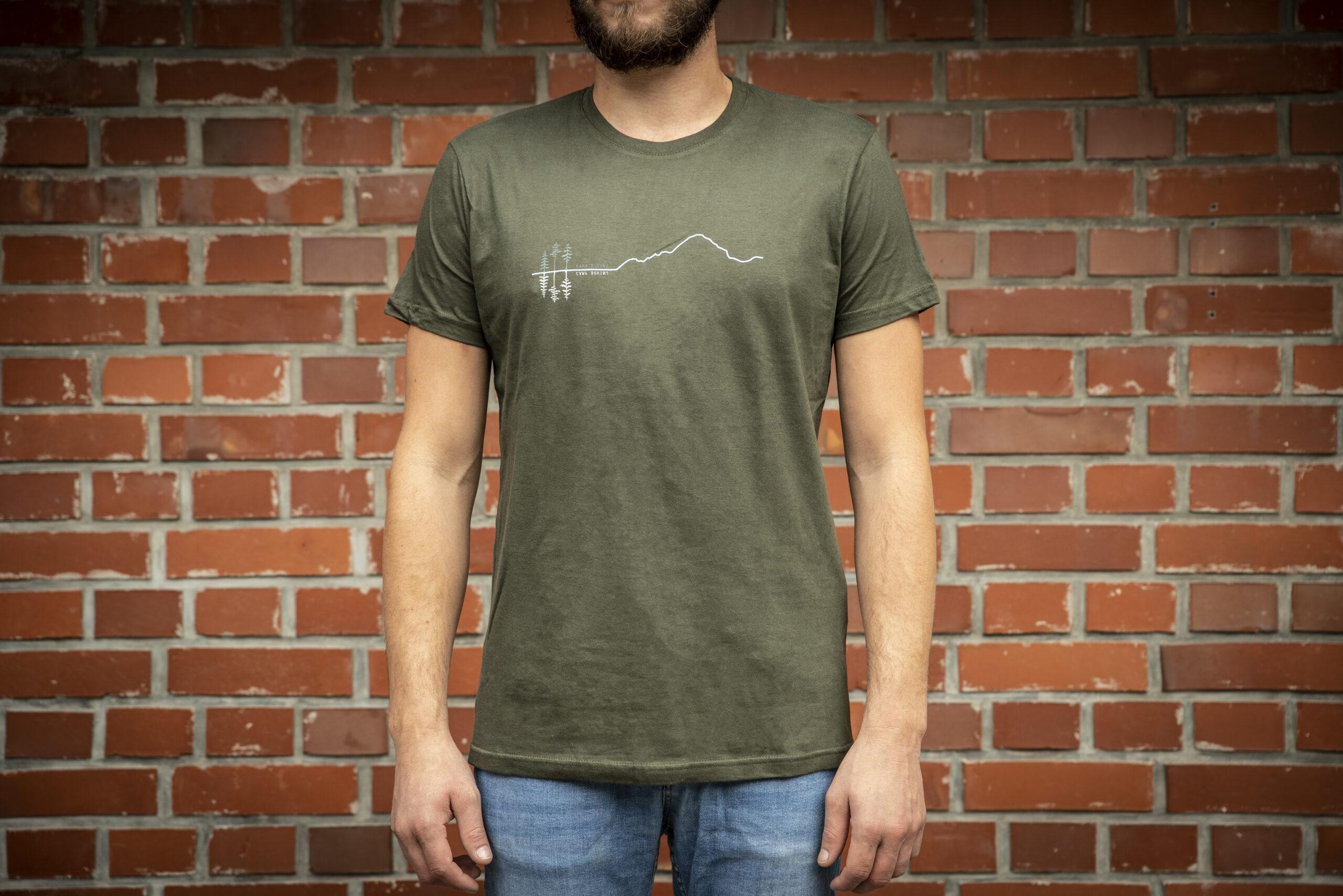 Mountain Men T Shirt Green 4