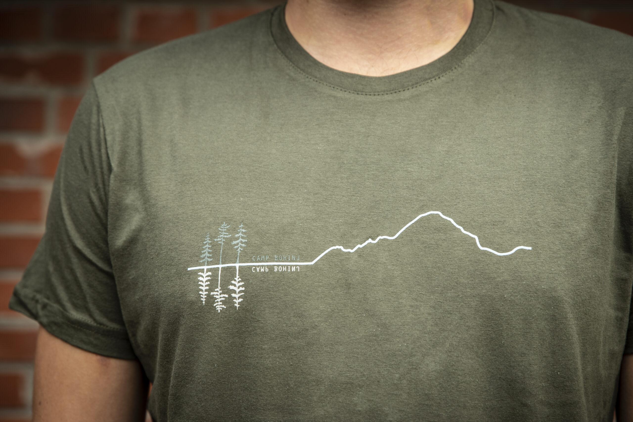 Mountain Men T Shirt Green 5