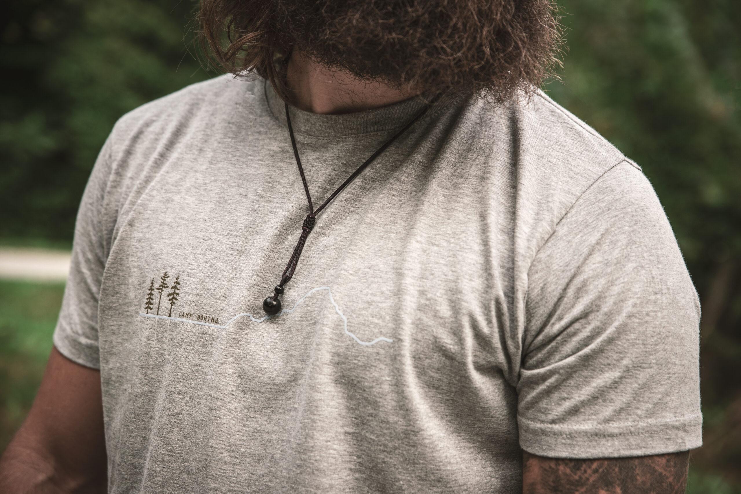 Mountain Men T Shirt Grey 3