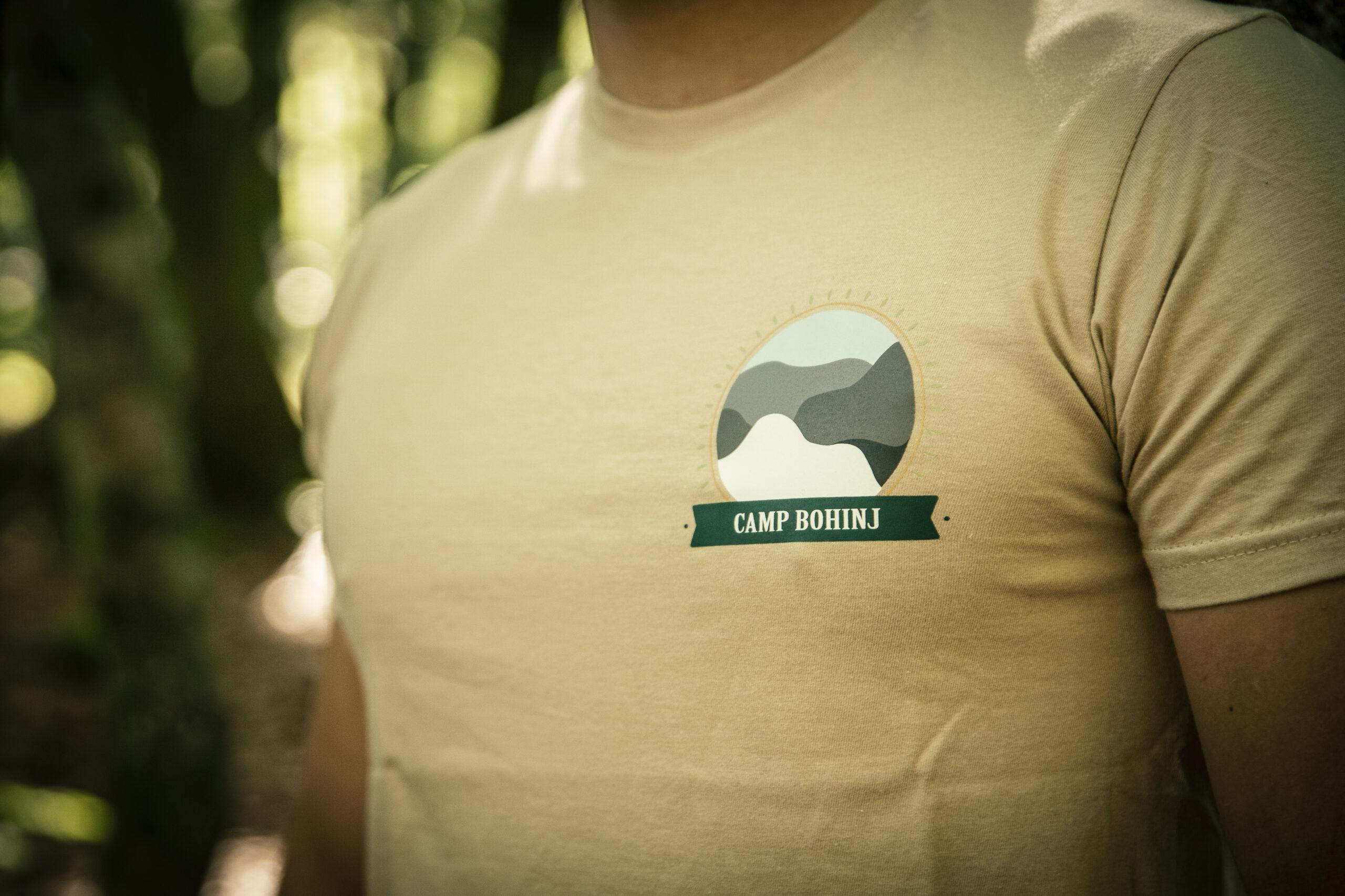 Nature Men T Shirt Beige 2