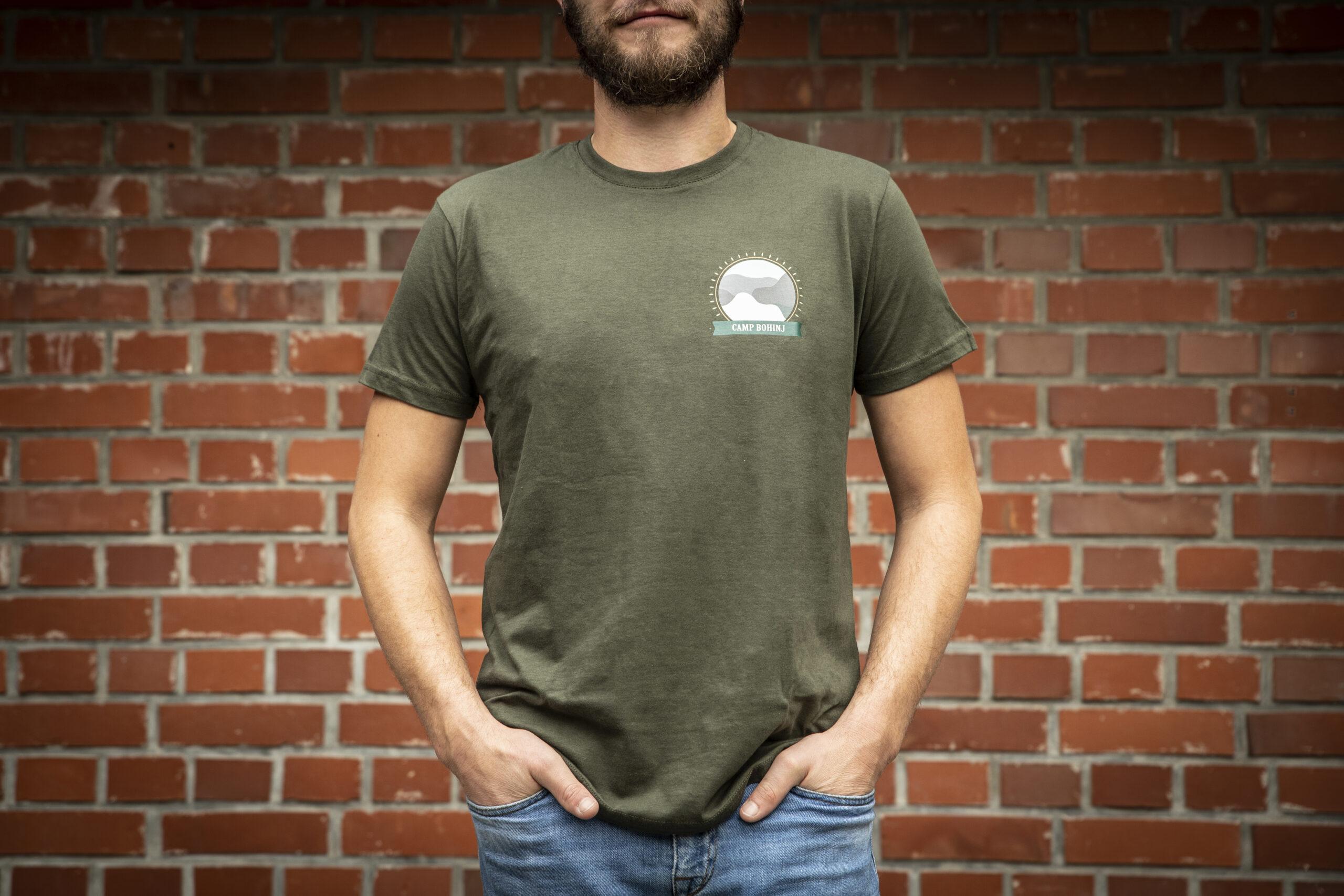 Nature Men T Shirt Green 1