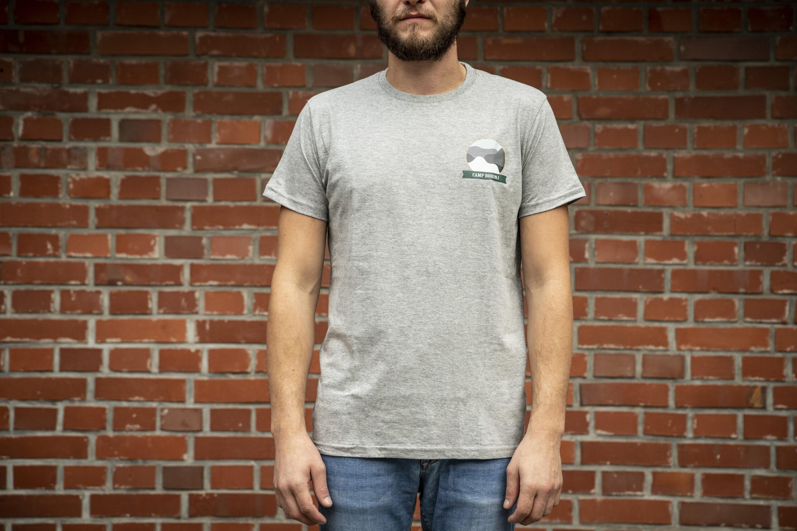 Nature Men T Shirt Grey 1