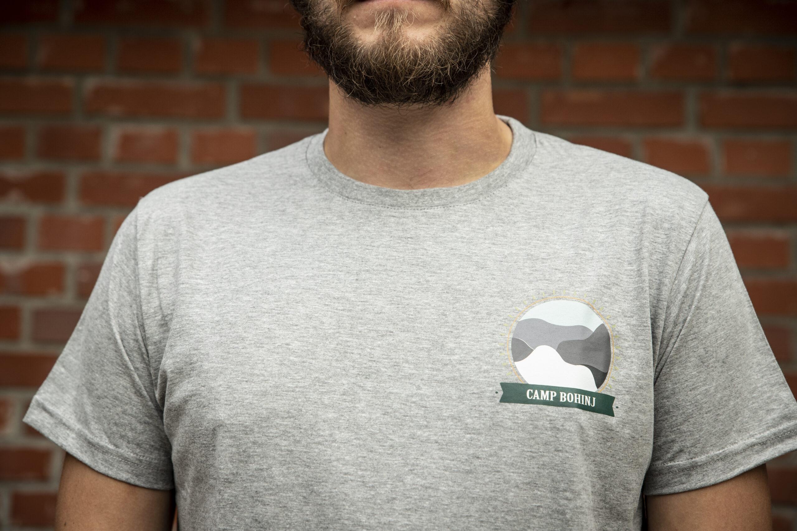 Nature Men T Shirt Grey 2