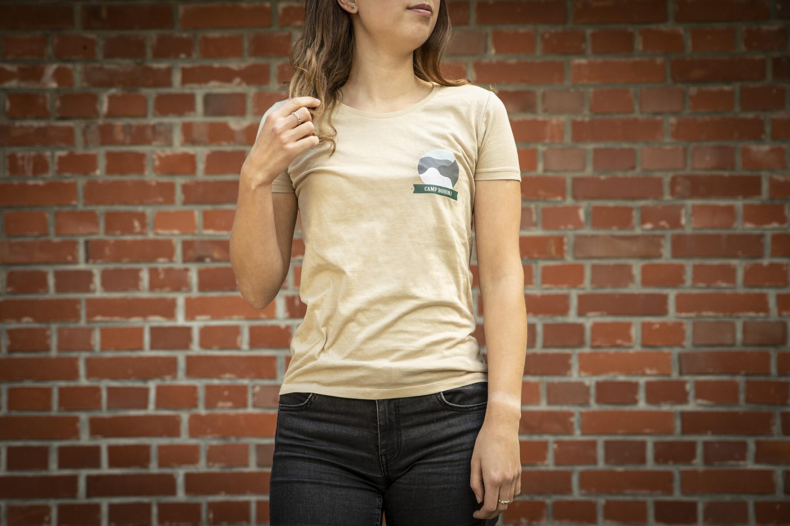 Nature Women T Shirt Beige 1