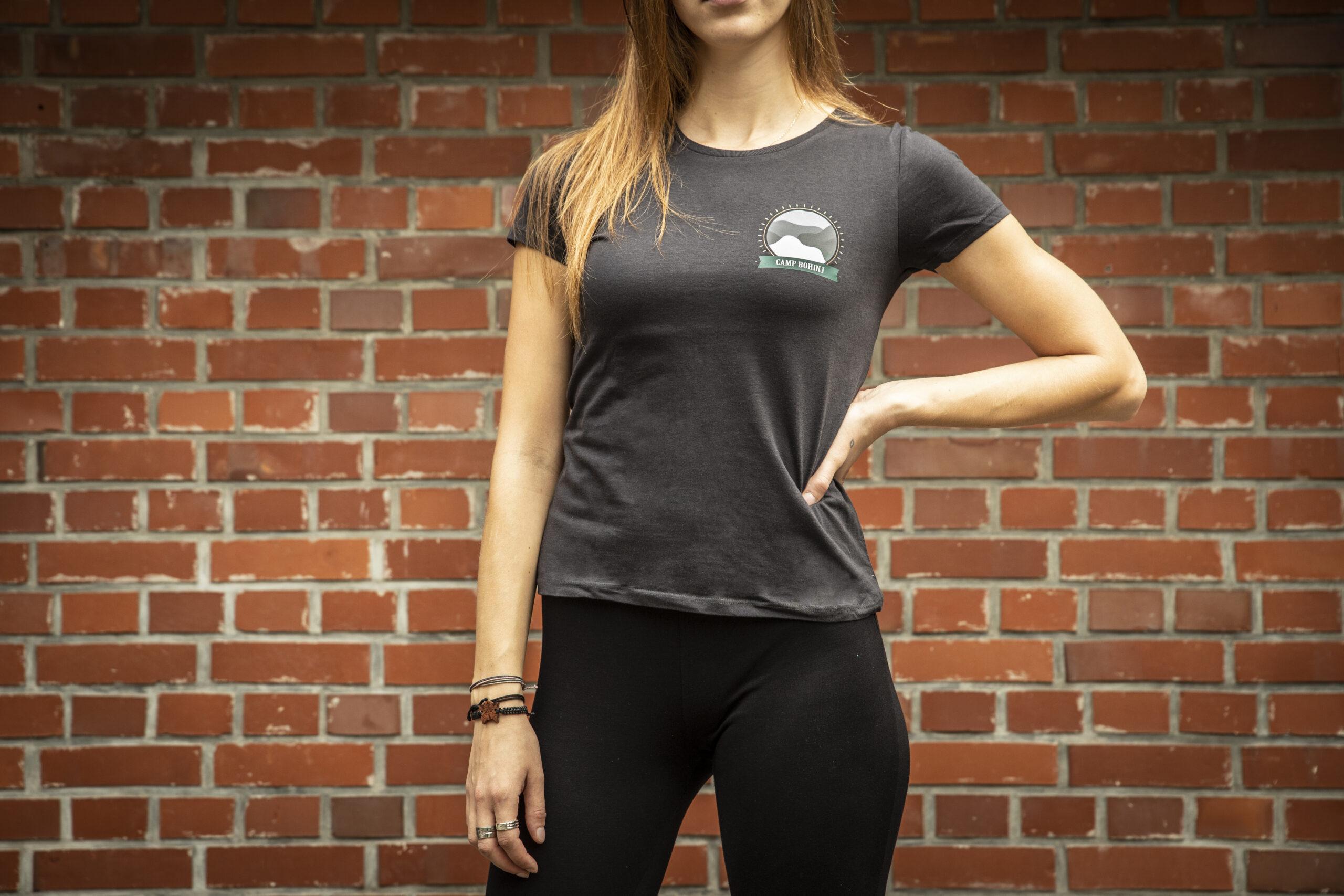 Nature Women T Shirt Black