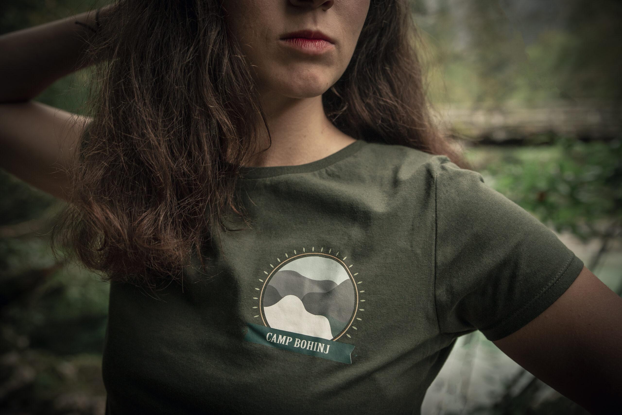 Nature Women T Shirt Green 3